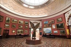 The Round Room at BMAG