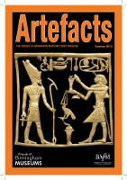 Artefacts - Summer 2012